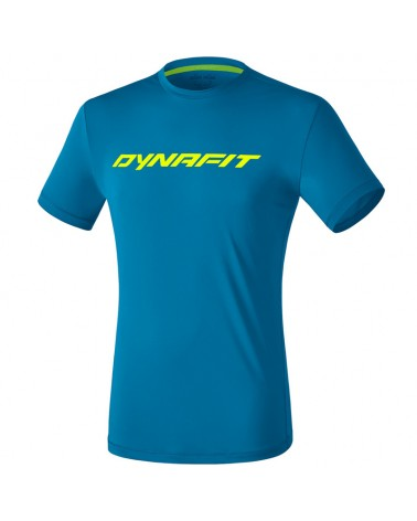 Dynafit Traverse 2 Men's Trail Running S/S Tee, Mykonos Blue