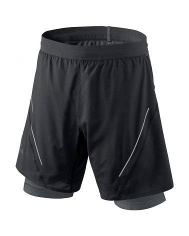 Dynafit Alpine Pro 2in1 Pantaloncini Alpine Running Uomo, Black Out/0730