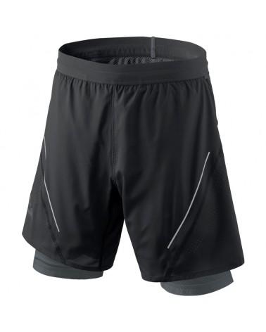Dynafit Alpine Pro M 2/1 Men's Alpine Running Shorts, Black Out/0730