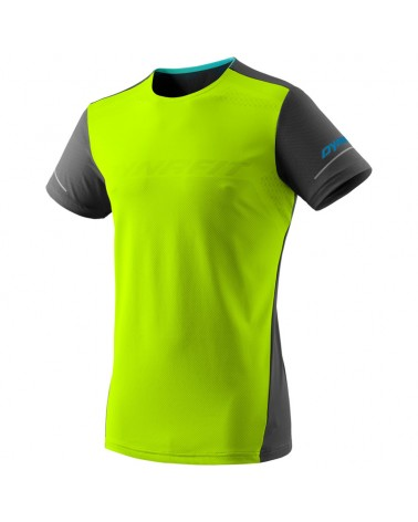 Dynafit Alpine Men's Trail Running S/S Tee, Fluo Yellow/0910