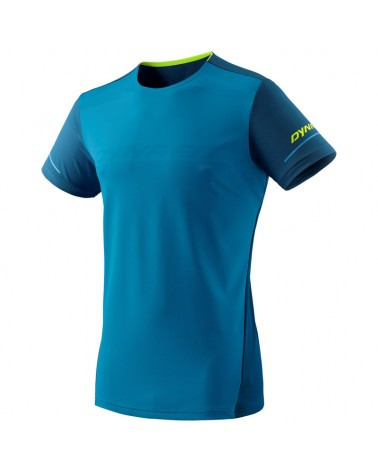 Dynafit Alpine Men's Trail Running S/S Tee, Mykonos Blue/8960