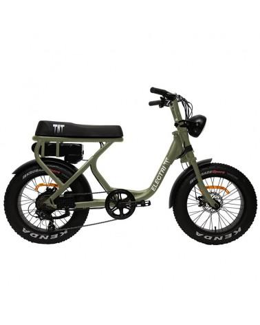 """Electri TNT e-Bike Fat 20"""" 250W, Verde"""