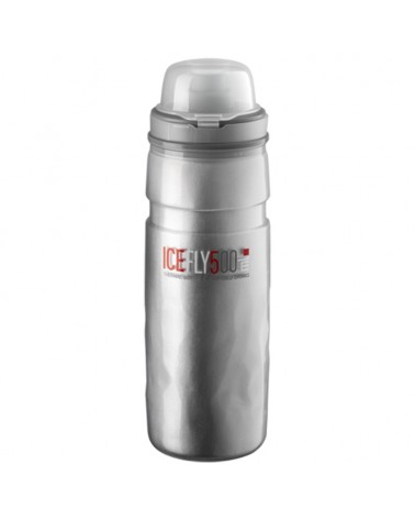 Elite Fly Ice Thermo Water Bottle 500ml, Clear