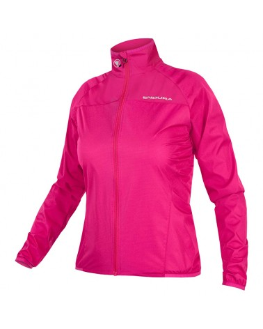 Endura Wms Xtract Jacket Giacca Donna, Rosso ciliegia