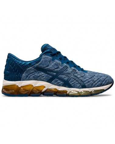 Asics Gel-Quantum 360 5 Men's Running Shoes, Mako Blue/Mako Blue